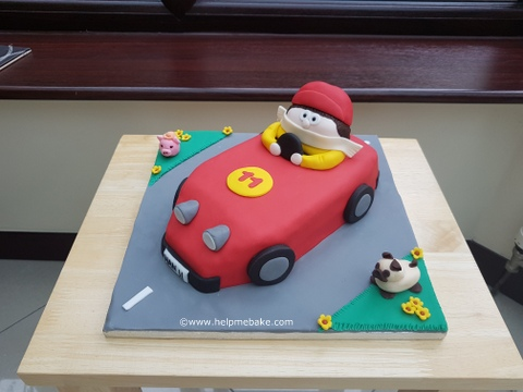 Click image for larger version.  Name:Han's 11th Birthday Car Cake.jpg Views:515 Size:64.0 KB ID:4000
