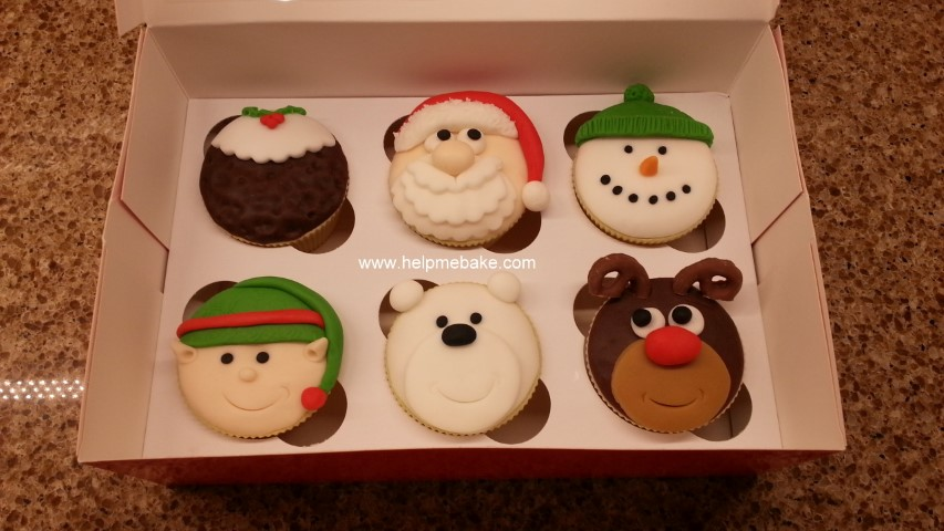 Click image for larger version.  Name:Christmas cupcakes (Small).jpg Views:1960 Size:102.6 KB ID:1915