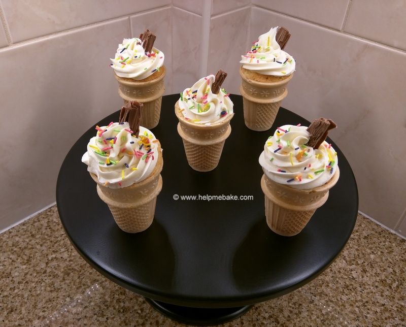 Click image for larger version.  Name:1 Ice Cream Cone cupcakes.jpg Views:478 Size:170.2 KB ID:3350