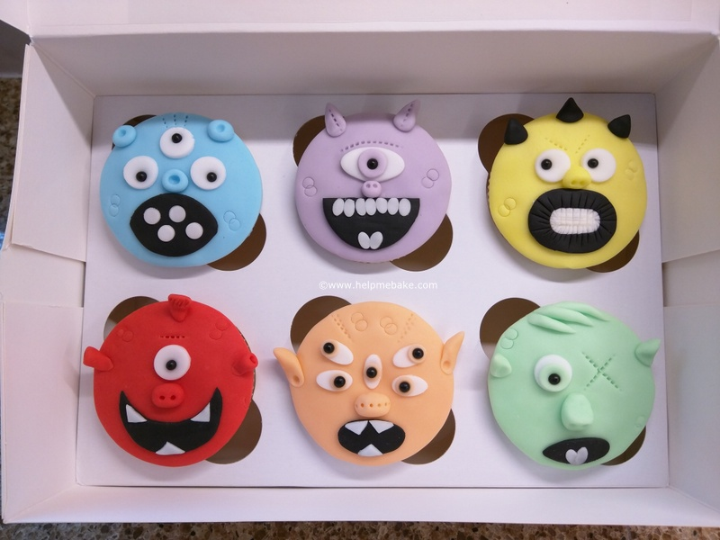 Click image for larger version.  Name:Monster Mayhem Cupcakes (8) - Copy.jpg Views:644 Size:128.6 KB ID:3734