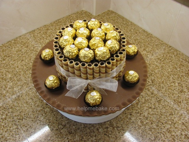 Click image for larger version.  Name:Ferrero Cake.JPG Views:18944 Size:121.1 KB ID:212