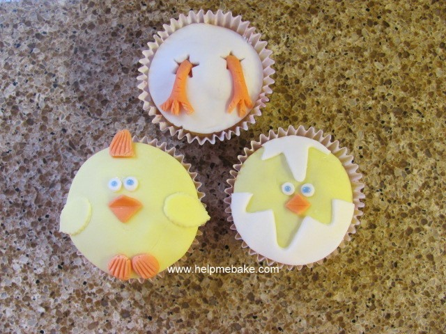 Click image for larger version.  Name:Fun Easter Chick Cupcakes.jpg Views:751 Size:132.3 KB ID:422